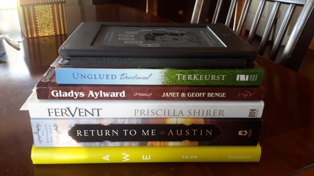 7 Books I'm Reading | Journey with Jill