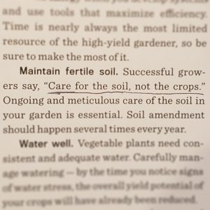 Care for the Soil, Not the Crops | Journey with Jill